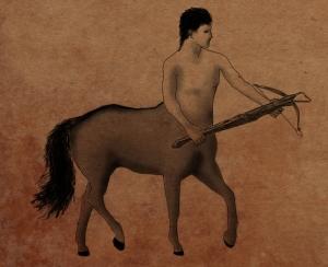 Centaur with crossbow