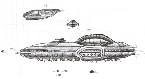 A ragtag fleet, seeking a lost planet known only as earth...