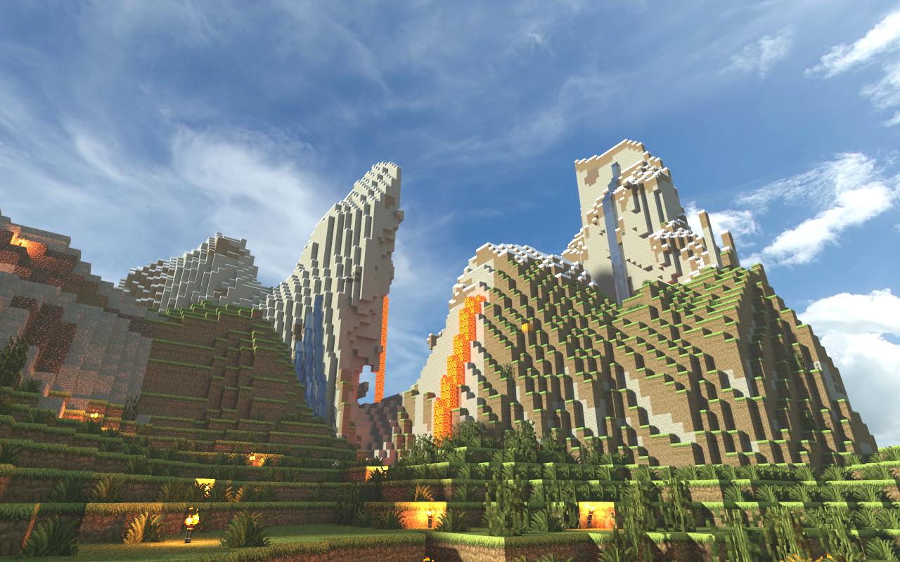 Minecraft Renders Tales In Progress - Minecraft epische hauser