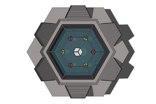 Hexagons: The Bumblebee shape