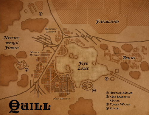 Quill Map
